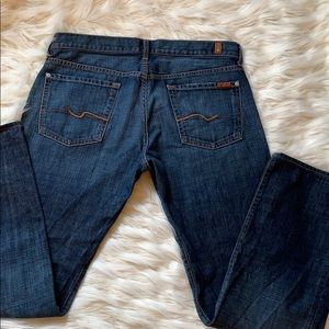 7 for all mankind standard jeans size 34